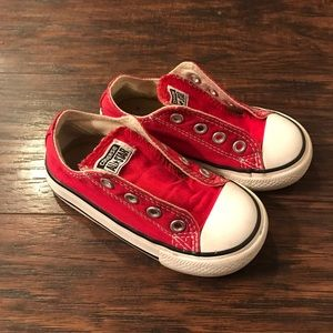 Toddler red All Stars Converse